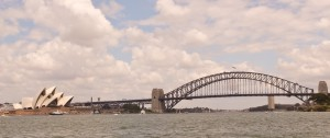 Panoramic View of the Sydney Harbor