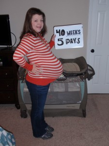 40 weeks, 5 days!
