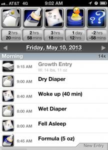 Total Baby app