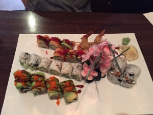 Four roll, all delicious.