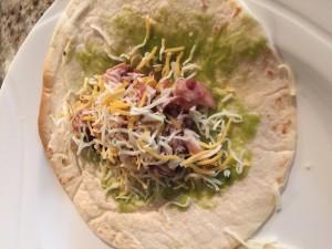 Taco prepared!