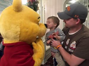 We love Winnie the Pooh